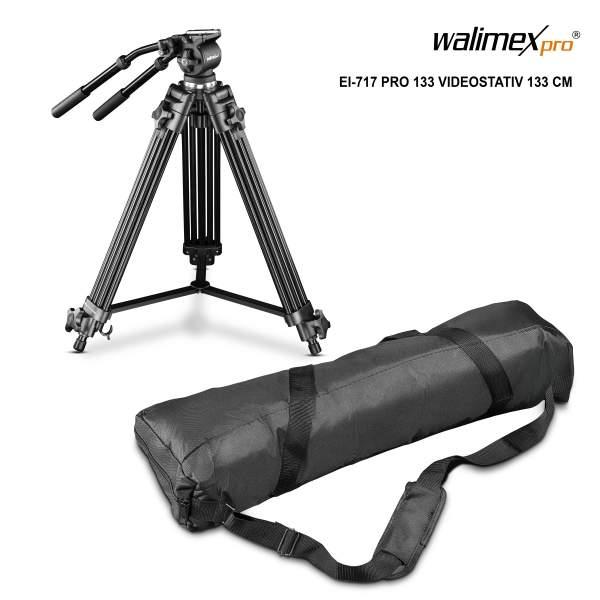 Walimex pro EI-717 Video-Pro-Tripod, 133cm