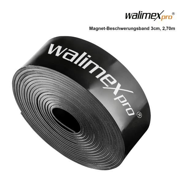 Walimex pro Magnet-Beschwerungsband 3cm, 2,7m