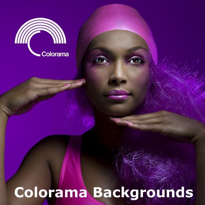 Hier finden Sie unser umfassendes Angebot an  Colorama-Studiohintergründen.