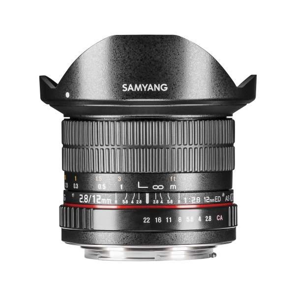 Samyang MF 12mm F2,8 Fisheye Pentax K