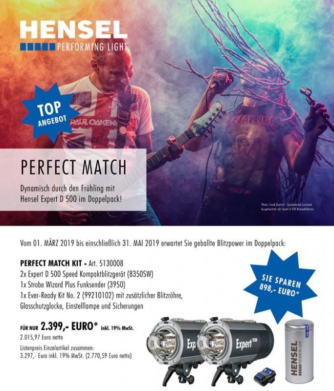 Perfect Match: Dynamisch durch den Frühling mit Hensel Expert D Kompaktblitzgeräten im Doppelpack!