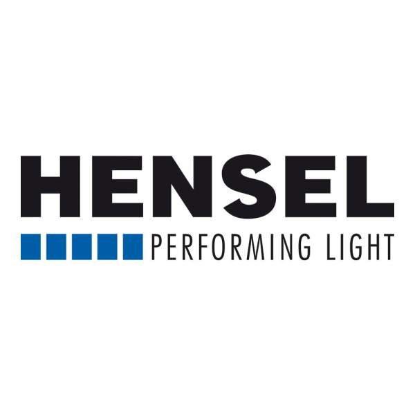 Hensel Textilbespannung schwarz/silber, 1x2 m