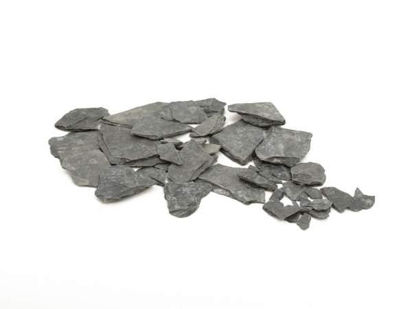 EUROPALMS Schiefersplitt, schwarz, 13kg