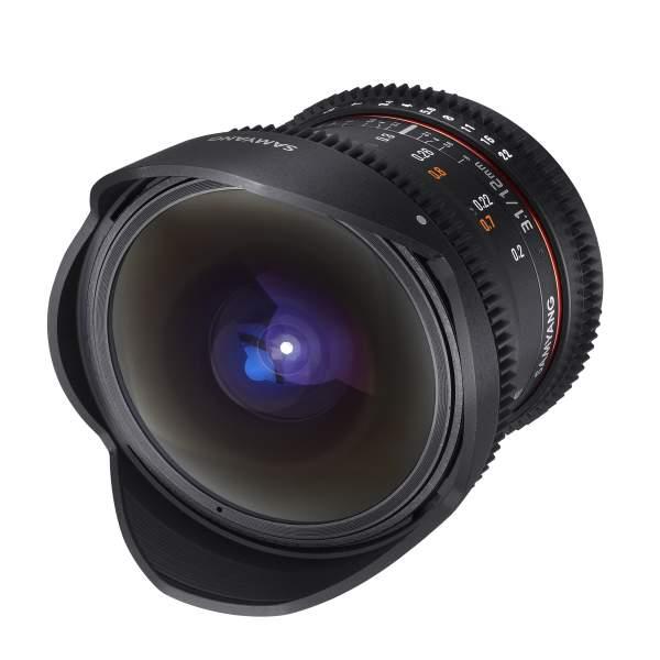 Samyang MF 12mm T3,1 Fisheye Video DSLR Canon EF