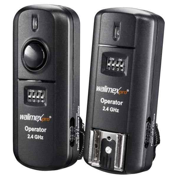Walimex pro 3in1 Funkauslöser-Set Sony 2.4GHz