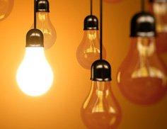 Ein Heizstrahler, der zufällig leuchtet: die alte Glühbirne hat ausgedient