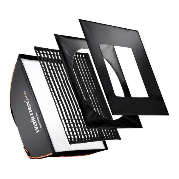 Walimex pro Softbox PLUS OL 50x70cm Multiblitz V
