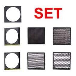 Filterträgersystem Set für 22 cm Filtersystem, ohne Flügeltor