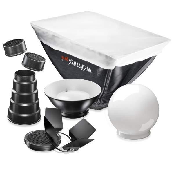 Walimex pro Blitzvorsätze 7tlg SonyF32X/Canon430EX
