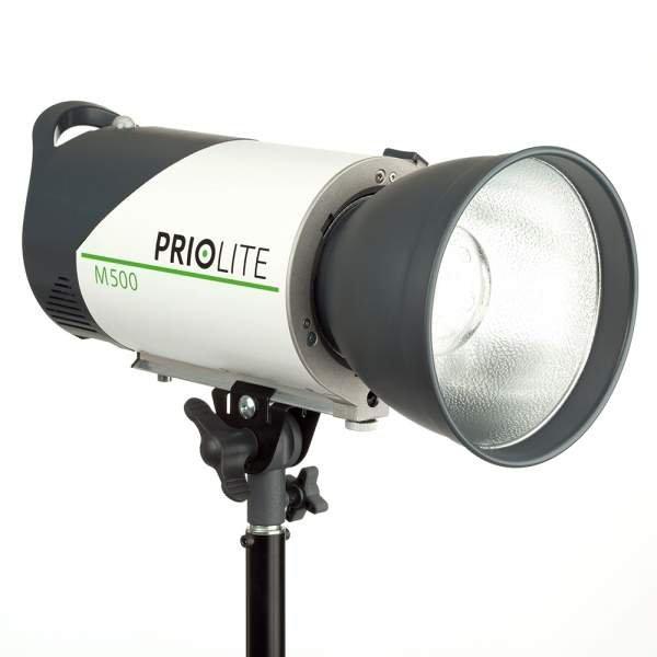 Priolite M 500 Kompaktblitzgerät für Netzbetrieb - Multivoltage