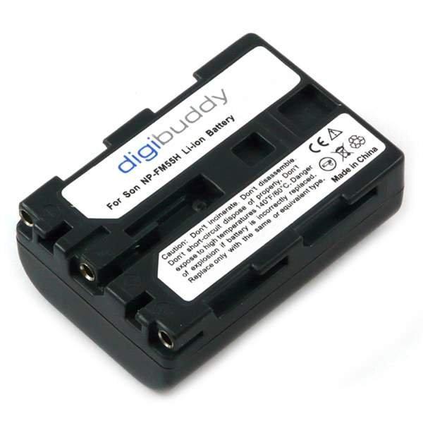 NP-FM55H NP-QM51 Akku f Sony1600mAh 7,4V 11,52Wh
