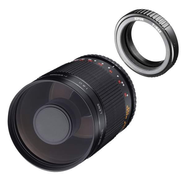 Samyang MF 500mm F8,0 DSLR Spiegel M42