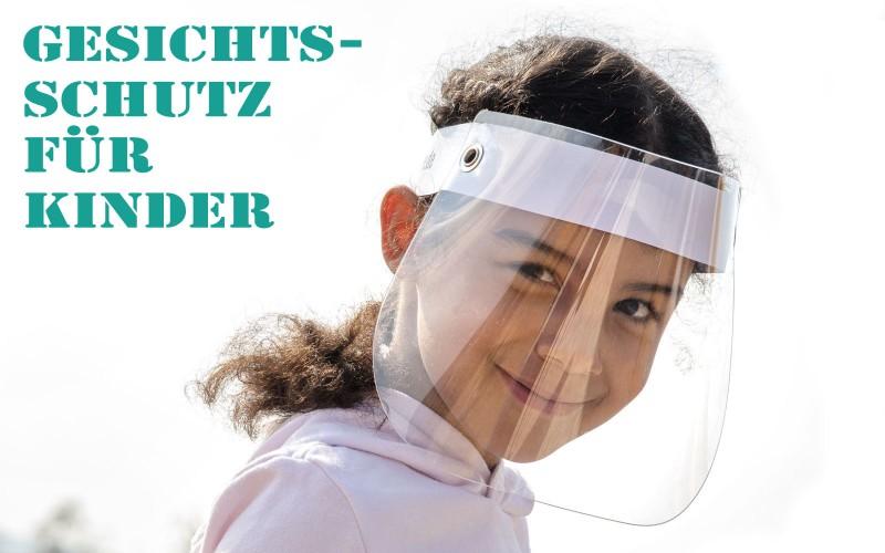 Gesichtsschutz für Kinder