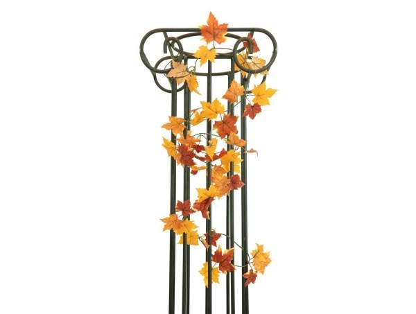 EUROPALMS Herbstgirlande, künstlich, gelb, 180cm