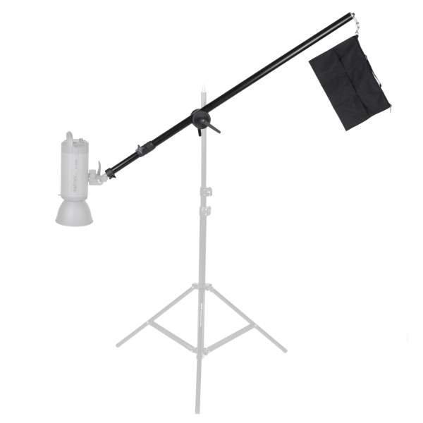 Walimex pro Galgen Deluxe m. Beschwerung 120-220cm