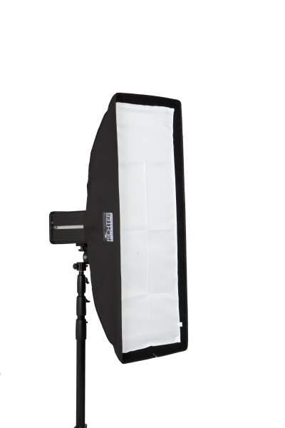 Softbox 30 x 90 cm für Balcar Studioblitz