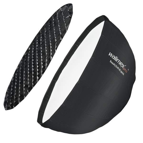 Walimex pro Studio Line Beauty Dish Softbox QA65 mit Softboxadapter Profoto