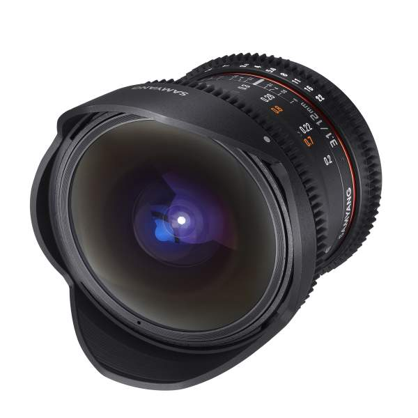 Samyang MF 12mm T3,1 Fisheye Video DSLR Sony A