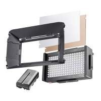 Walimex pro LED Foto Video Square 170 Bi Color Set